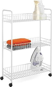 Honey-Can-Do CRT-01149 3-Tier Laundry Cart