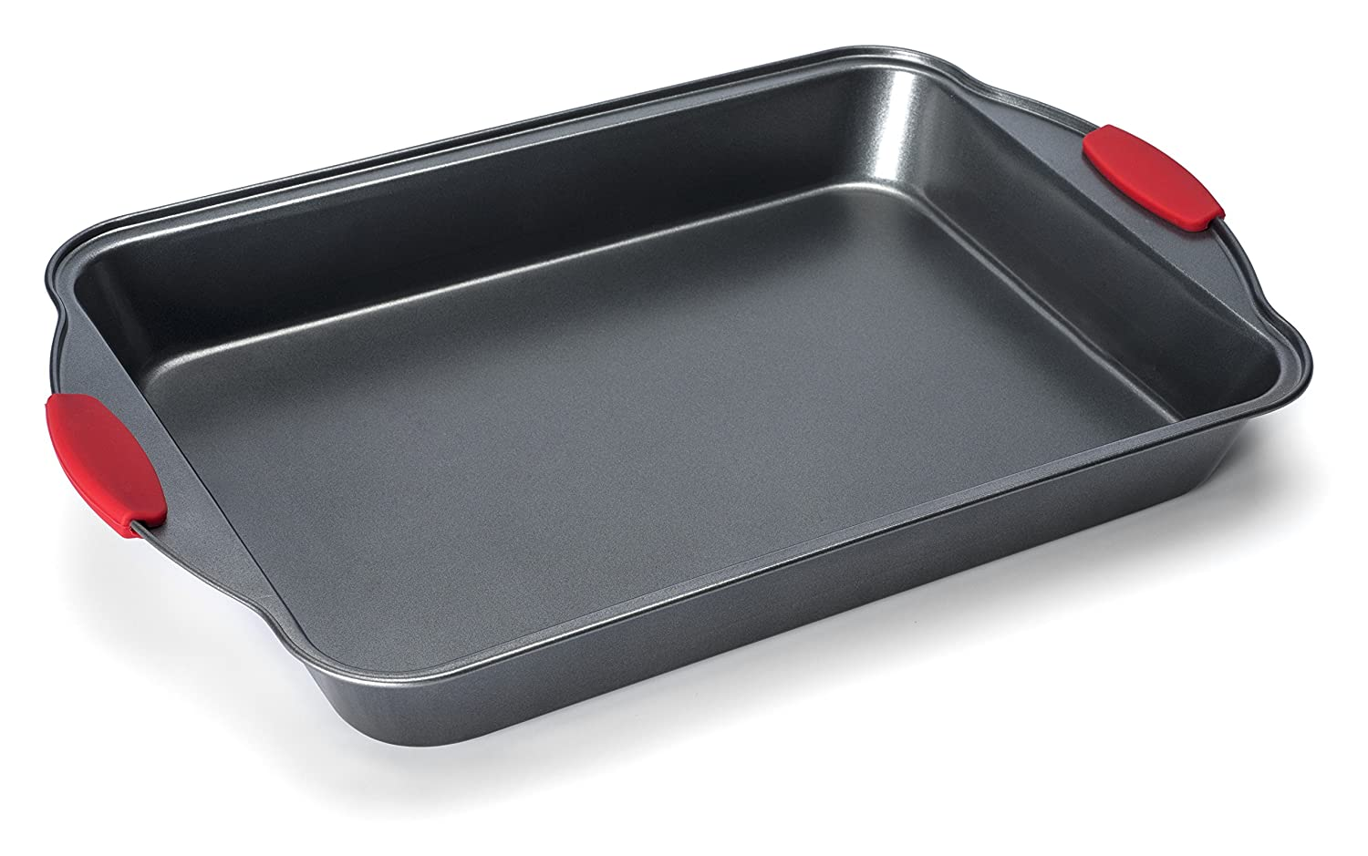 Elite Bakeware Extra Large All Purpose Baking Pan (2 Pack) with Ultra Nonstick Coating and Sure Grip Handles - Premium Baking Pan - Cookie Sheet - Cake Pan - Roasting Pan (Quantity of 2)