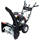 Power Smart DB7659A 22-inch 208cc LCT Gas Powered Compact 2-Stage Snow Thrower with Electric Start
