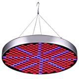 50W LED Plant Grow Lights , Shengsite UFO 250 LEDs Indoor Plants Growing Light Bulbs with Red Blue Spectrum Hydroponics Plant Hanging Kit for Germination,Vegetative&Flowering