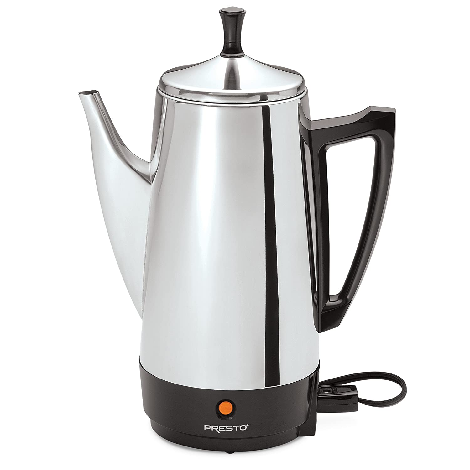 Presto 02811 12- Cup Stainless Steel Coffee Maker