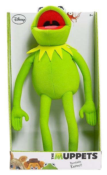 Just Play Muppets Kermit pliable en peluche