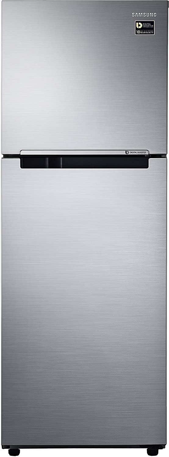 Upto 25% OFF + No Cost EMI + Exchange Offers Refrigerators By Amazon | Samsung RT28M3022S8 Frost-free Double-door Refrigerator (253 Ltrs, 2  Star Rating, Elegant Inox) @ Rs.18,990