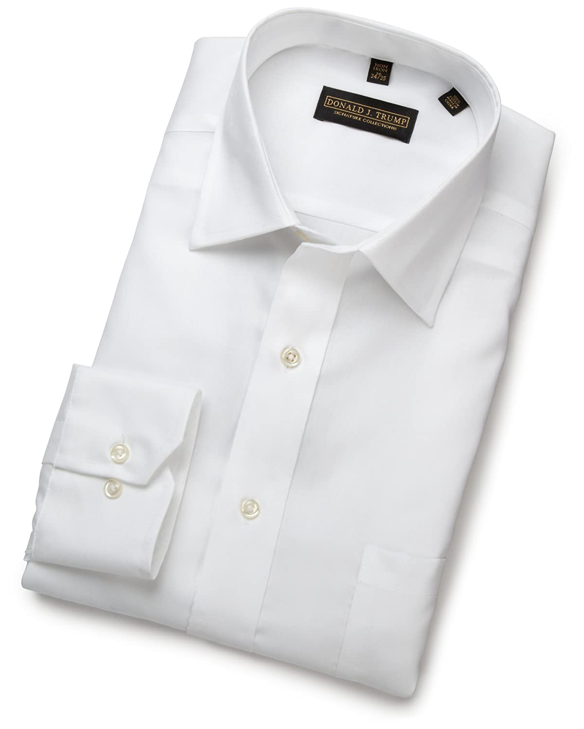 Donald Trump Barrel Cuff Dress Shirt (White)