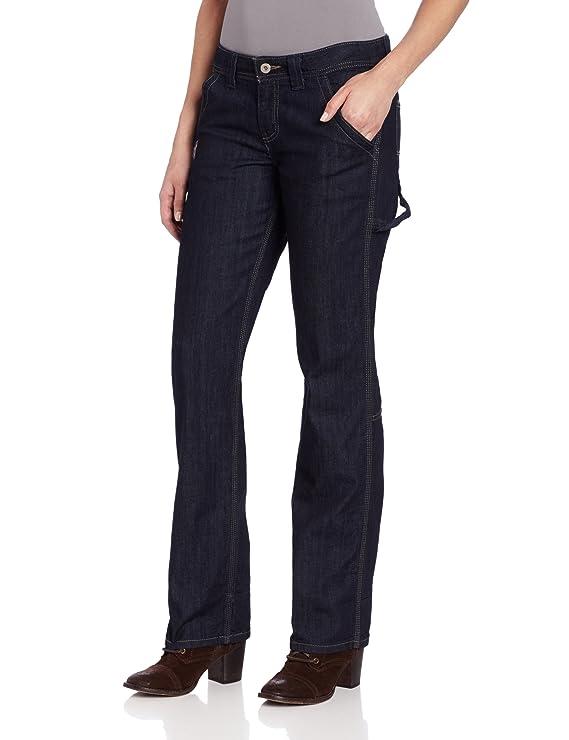 Dickies Women's Relaxed Fit Denim Carpenter Pant