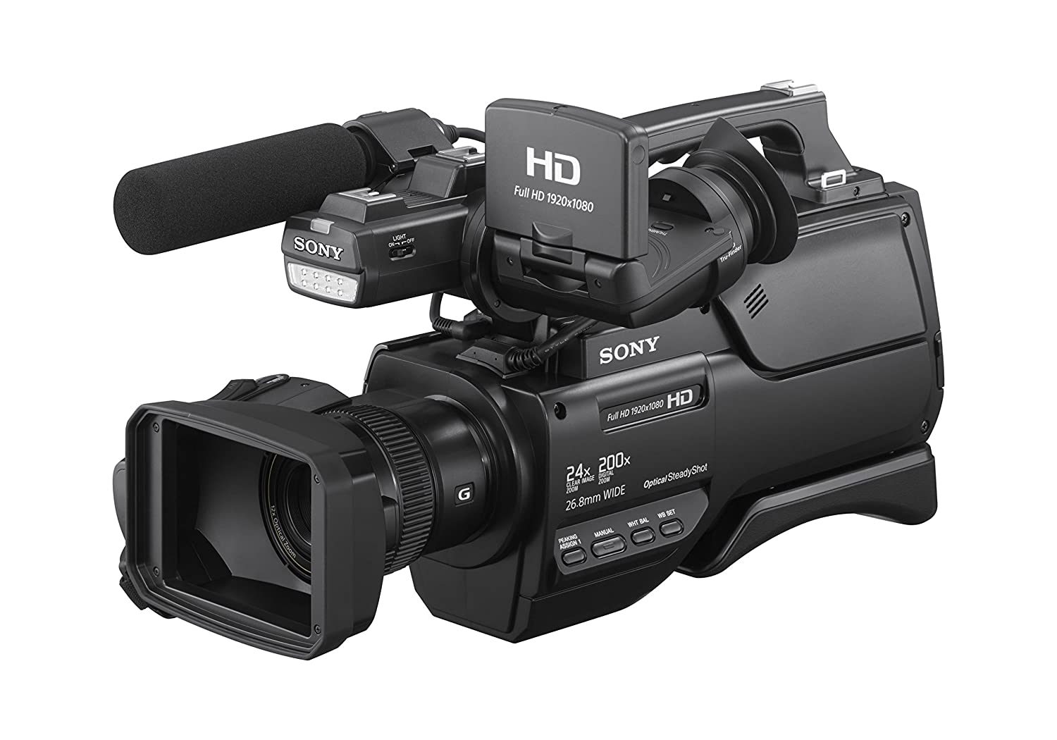 Sony HXRMC2500 Shoulder Mount AVCHD Camcorder with 3-Inch LCD (Black) (Discontinued by Manufacturer)