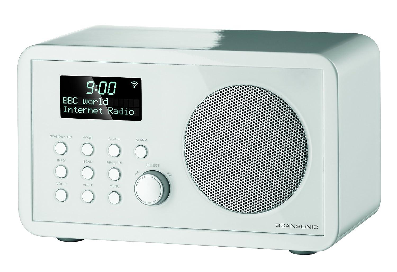 Web radio SCANSONIC IN200 BLANC