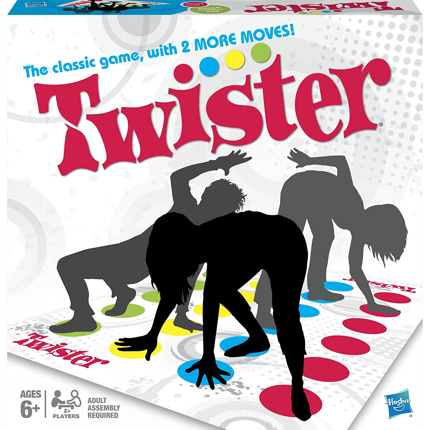 Twister Game by Hasbro, New or Used