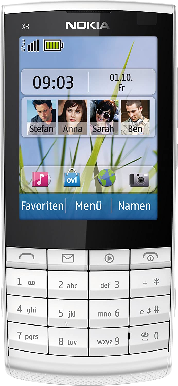 T�l�phone GSM NOKIA X302 BLANC