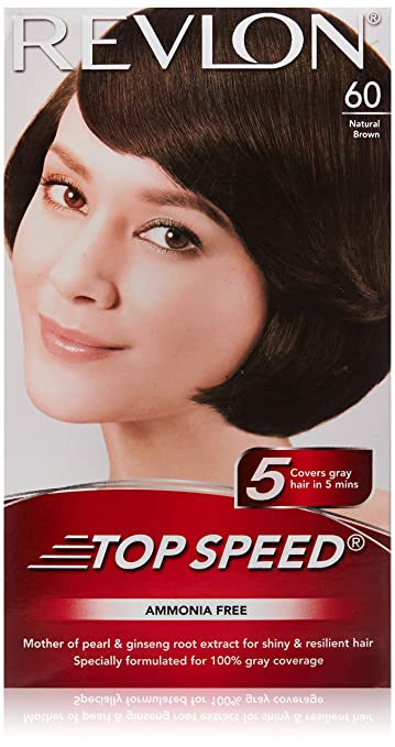 Buy Revlon Top Speed Hair Color for Woman, Natural Brown 60 Online ...