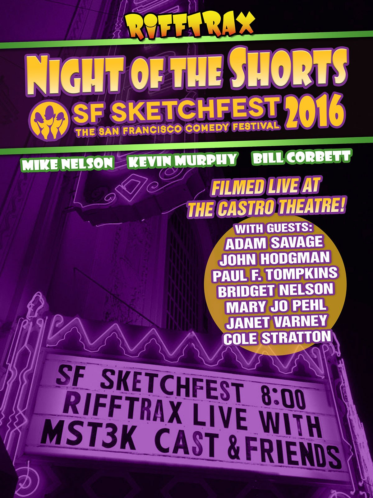 RiffTrax: Night of the Shorts