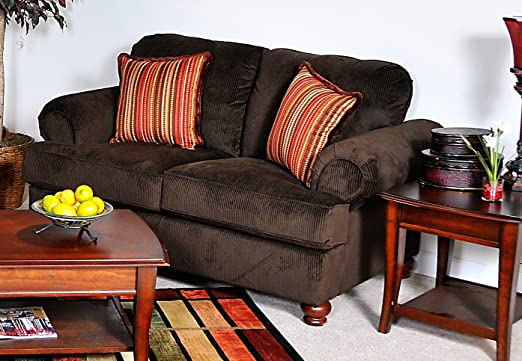 Chelsea Home Cherry Loveseat -