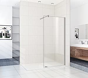 1800 x 700 mm Walk In Shower Enclosure Stone Tray       review and more information