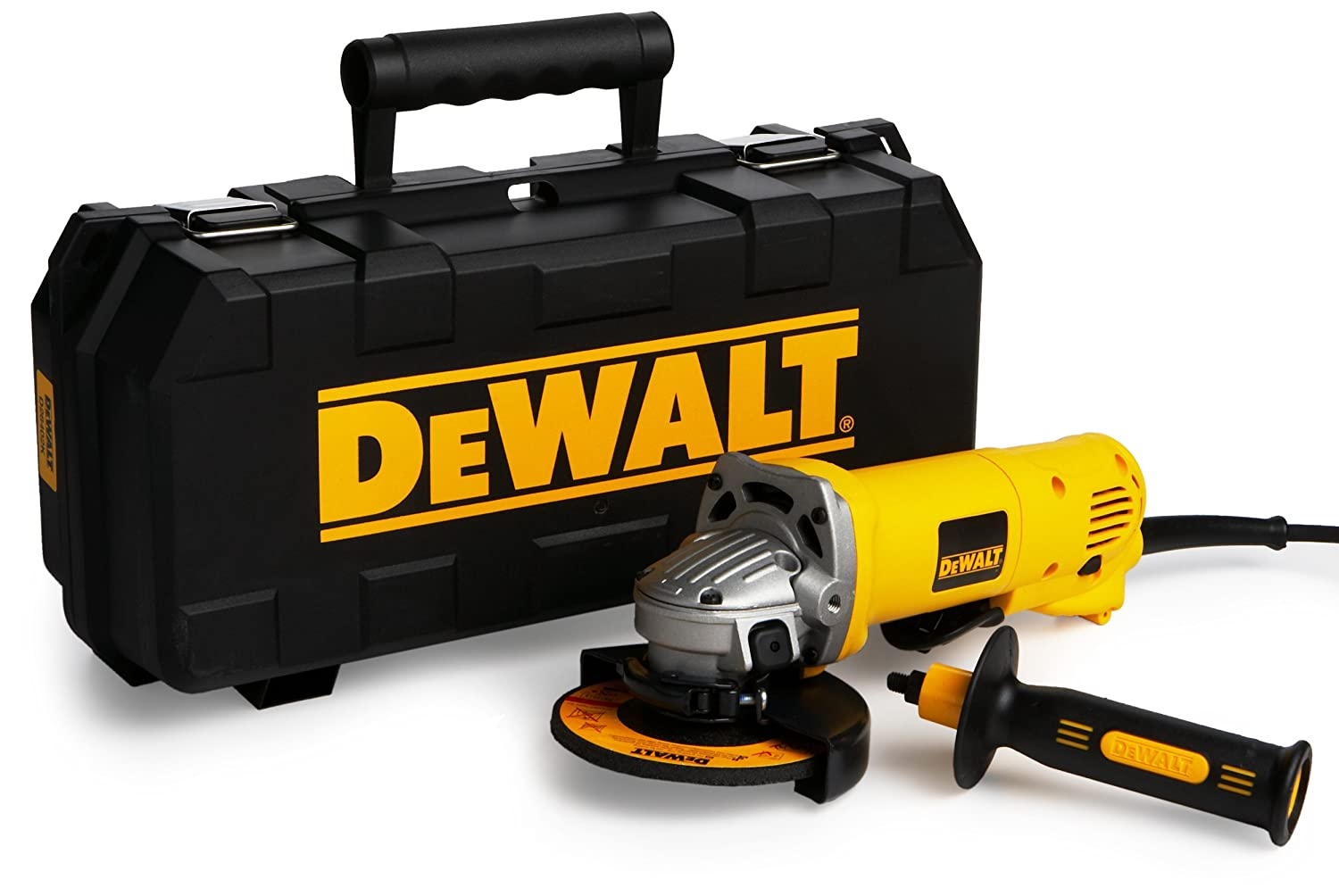 De Walt Electric Grinder ~ New dewalt d k inch small angle power grinder