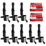 Set of 8 Ignition Coils GDG511 GD511 FD508 Motorcraft Spark Plugs SP546 PZH14F For 2005-2008 Ford F150 F-150 Lincoln