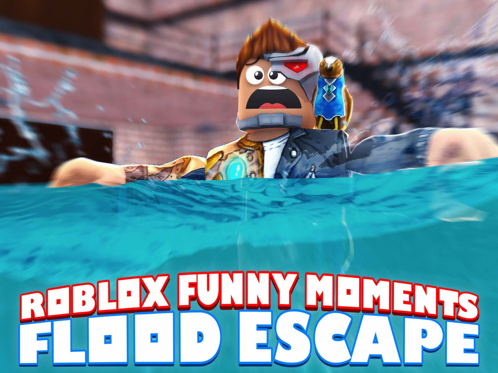 Clip: Flood Escape! (Roblox Funny Moments) - Season 1