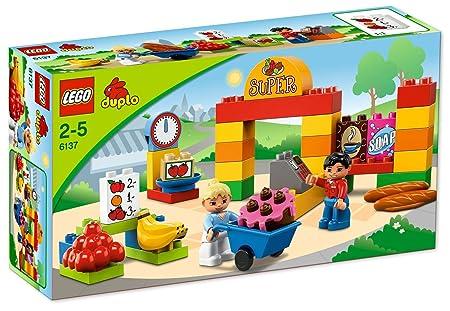 LEGO DUPLO Briques - 6137 - Jeu de Construction - Mon Premier Supermarché