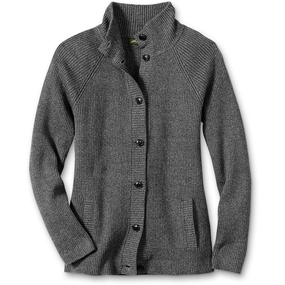 Eddie Bauer Pima Cotton Twisted Yarn Cardigan