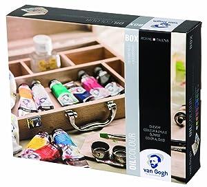 van Gogh Ölfarbe Basis Malkasten  Spielzeug Überprüfung und weitere Informationen