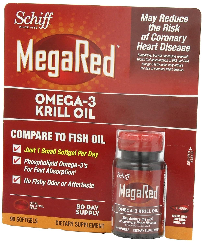 Omega 3 de krill for Megared vs fish oil
