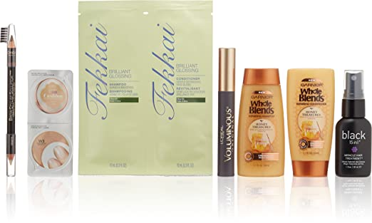 Women's Makeup & Hair Care Beauty Sample Box ($9.99 credit with purchase)