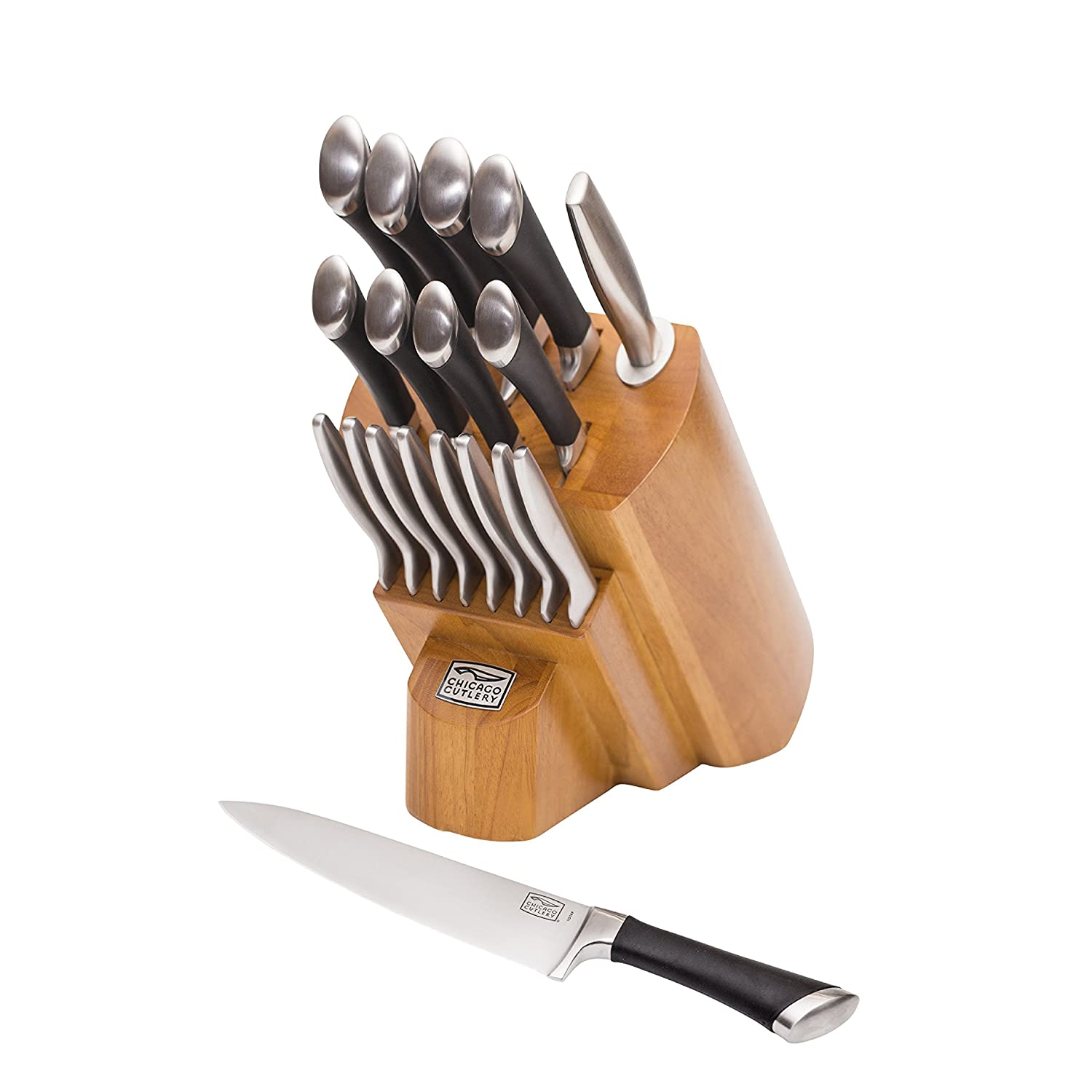 Chicago Cutlery 1119644 Fusin Forged 18-piece Knife Block Set