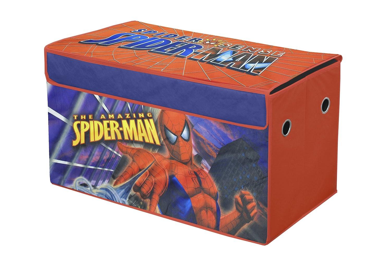 Kids Storage Cube Organizer Toy Box Kids Bedroom Furniture: Kids Toy Storage Box Collapsible Organizer Spiderman Trunk
