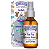 Sovereign Silver® For Pets Bio-Active Silver Hydrosol™ for Immune Support* - 2oz - Fine Mist Spray – Ultimate Refinement Colloidal Silver - Safe*, Pure & Effective* -  Premium Silver Supplement (Tamaño: 2 oz)