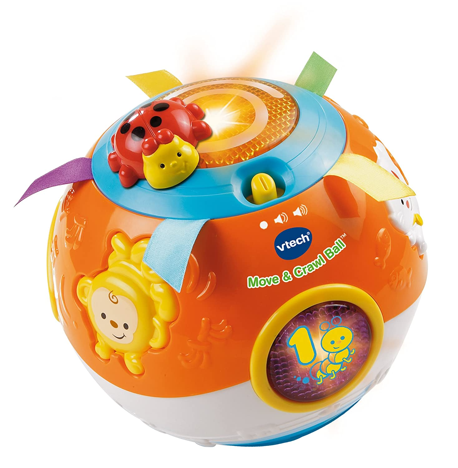 Vtech Move Crawl Ball Toys Electronic Learning Baby Kids