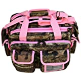 Explorer Tactical Padded Gun Range Multipurpose Bag Mossy Oak (Color: Pink, Tamaño: 16 x 11 x10-Inch)