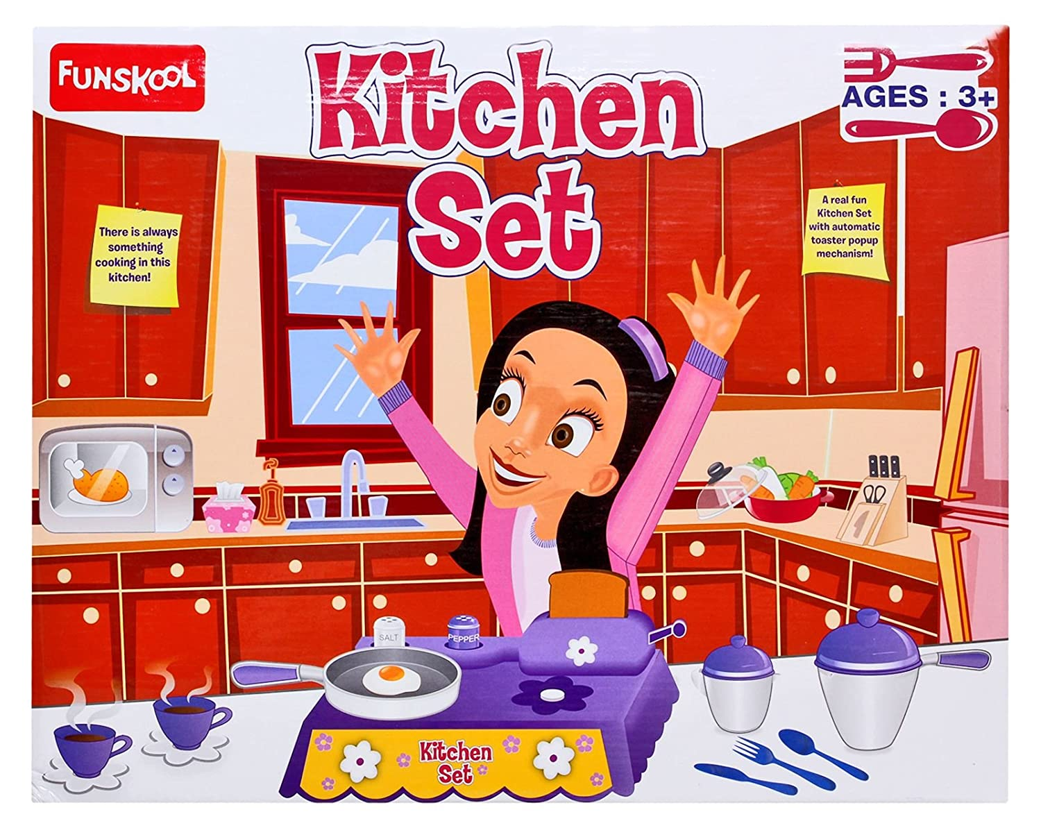 Amazon.in: Kitchen Toys: Toys & Games: Kitchen Playsets, Play Food ...