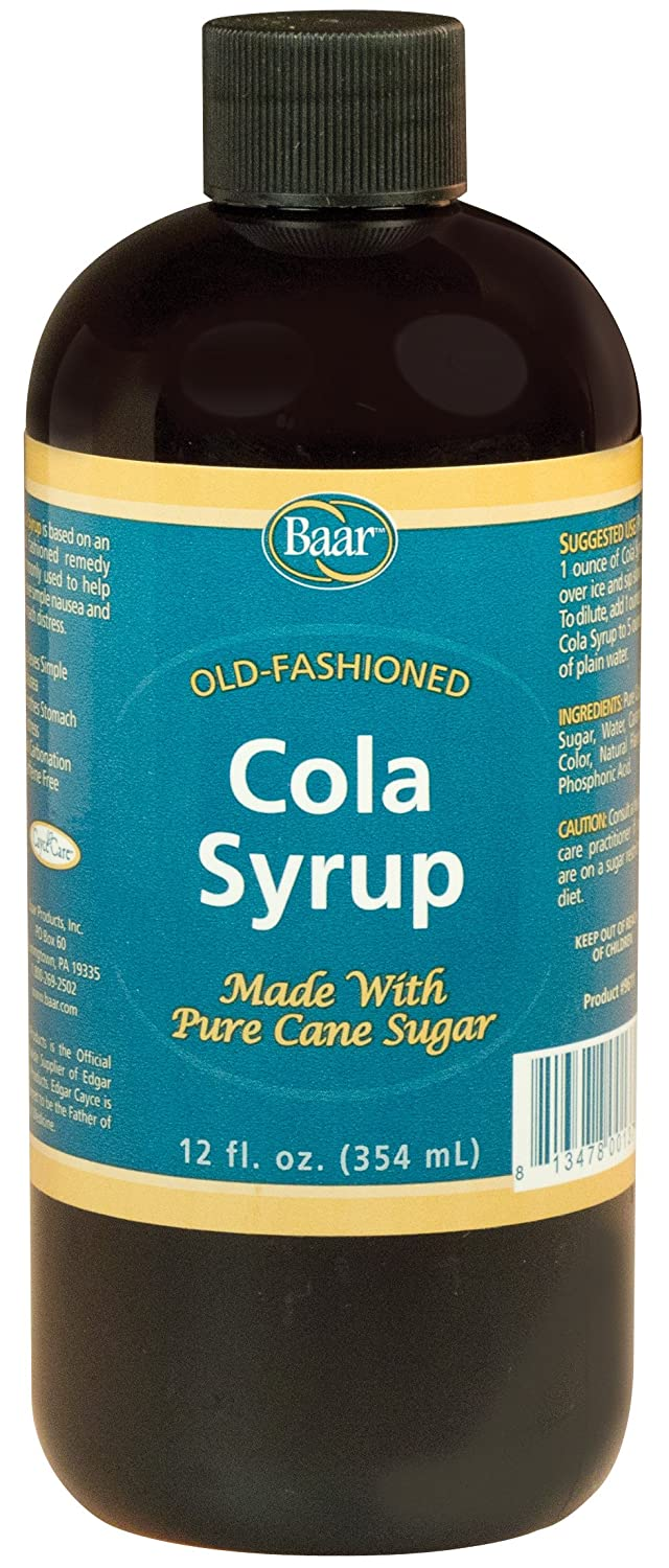 cola syrup for nausea