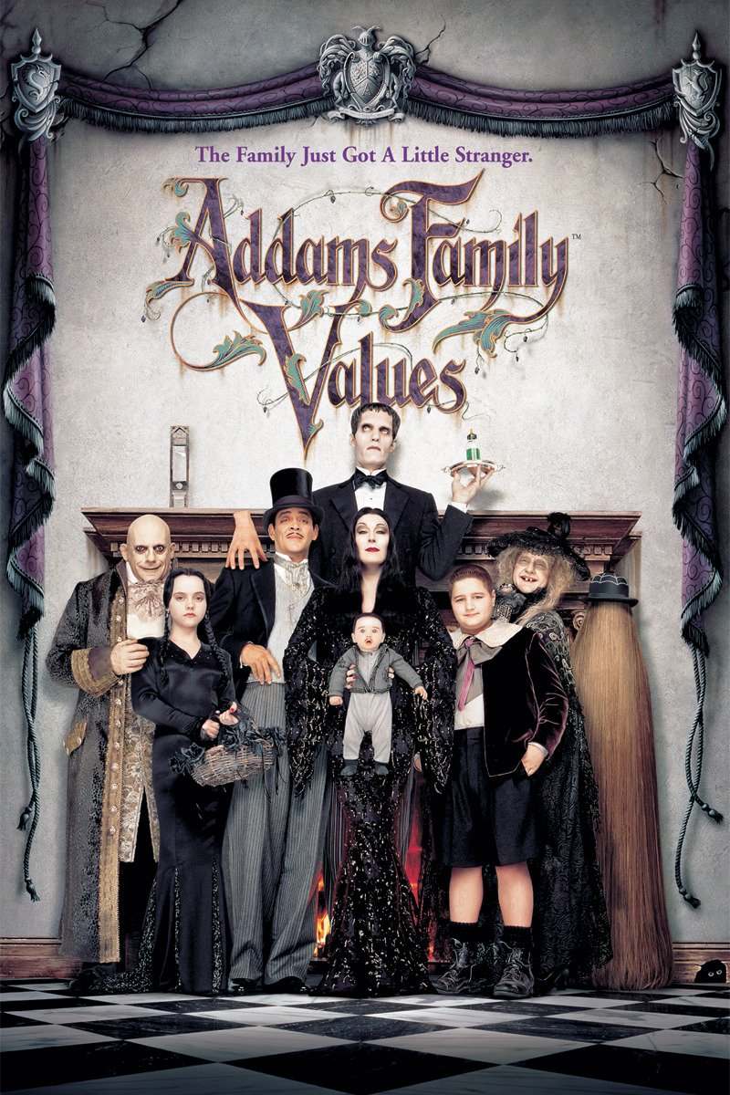 ADDAMS FAMILY VALUES on Amazon Prime Instant Video UK