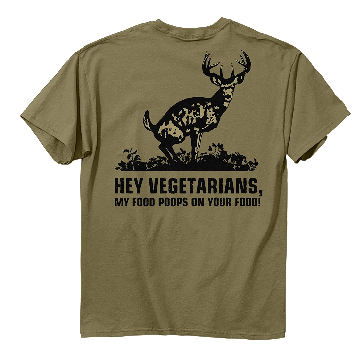 Buck Wear Food Poops Short Sleeve Tee