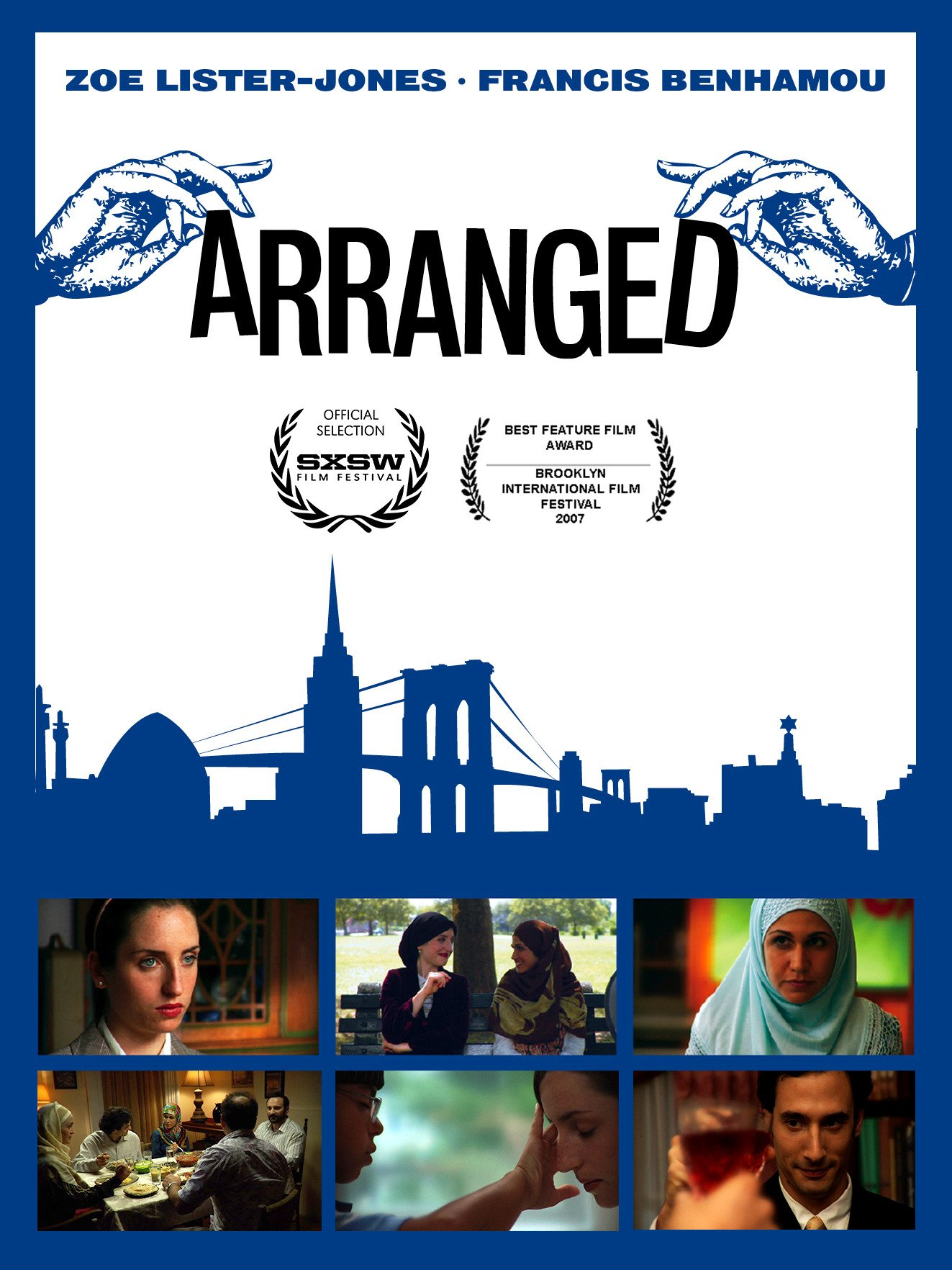 Arranged on Amazon Prime Instant Video UK