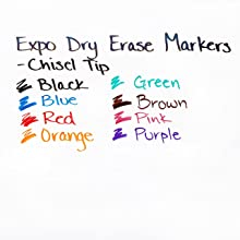 Expo Original Chisel Tip Dry Erase Markers, 12 Green Markers (83004)