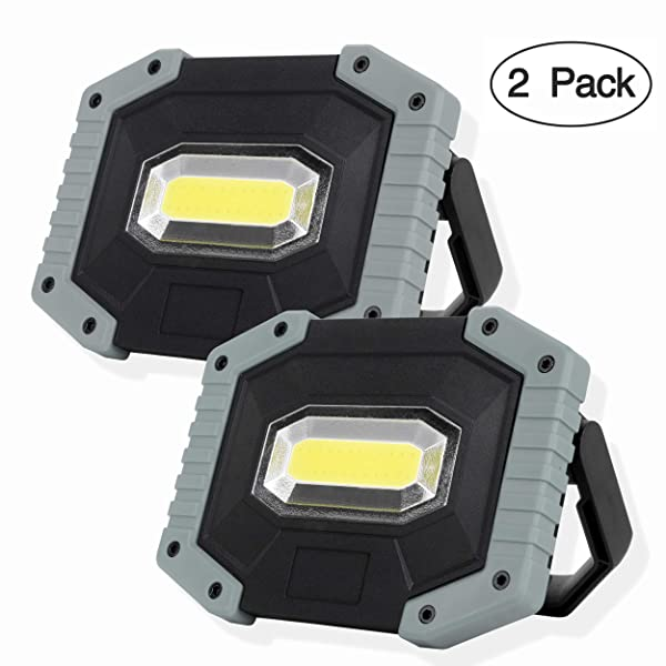 30W COB LED Light Rechargeable Car Fishing Garden Work Torches USB Charging Lamp