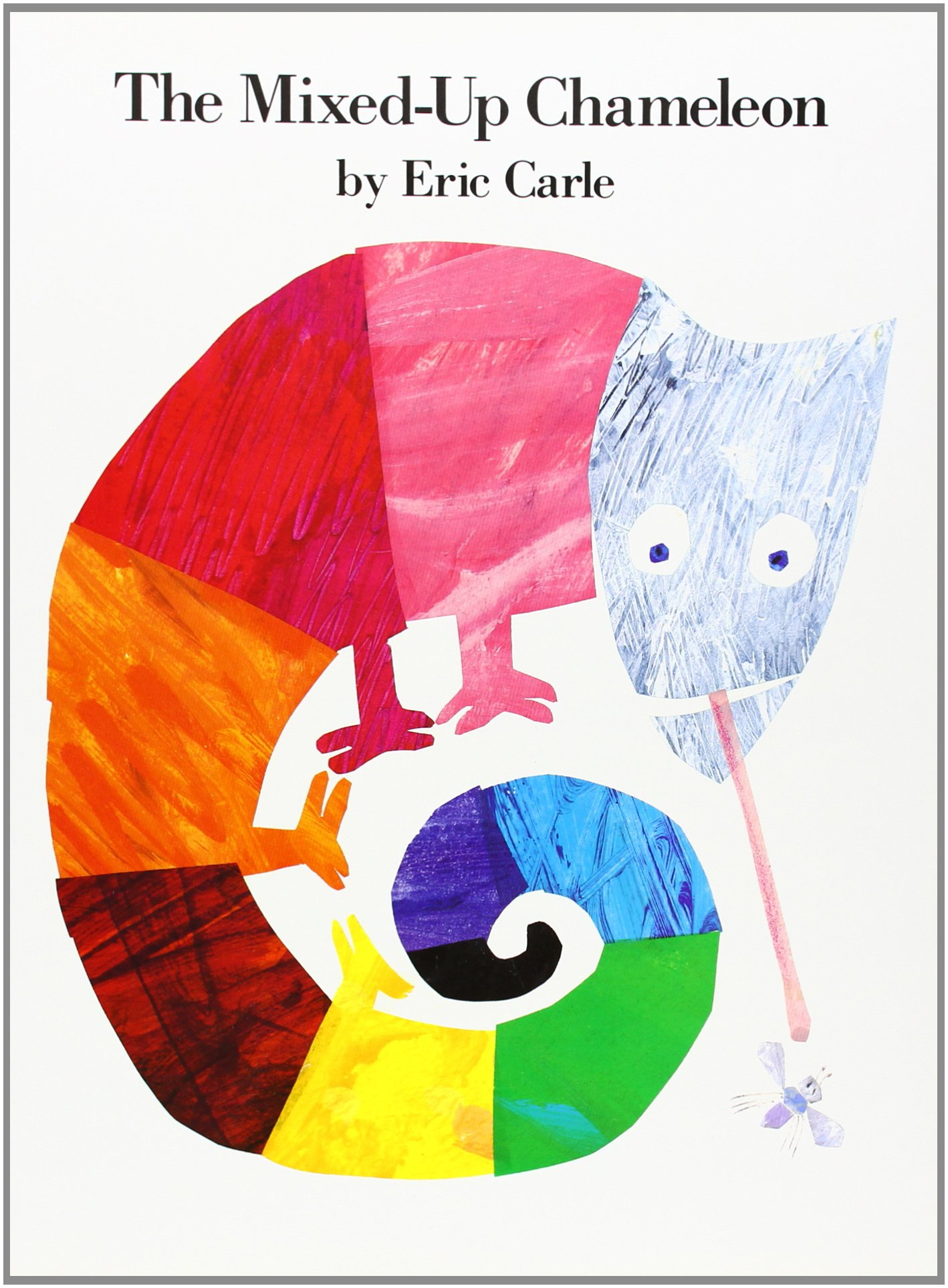 Portland district library stack report storytime anytime for Eric carle chameleon template