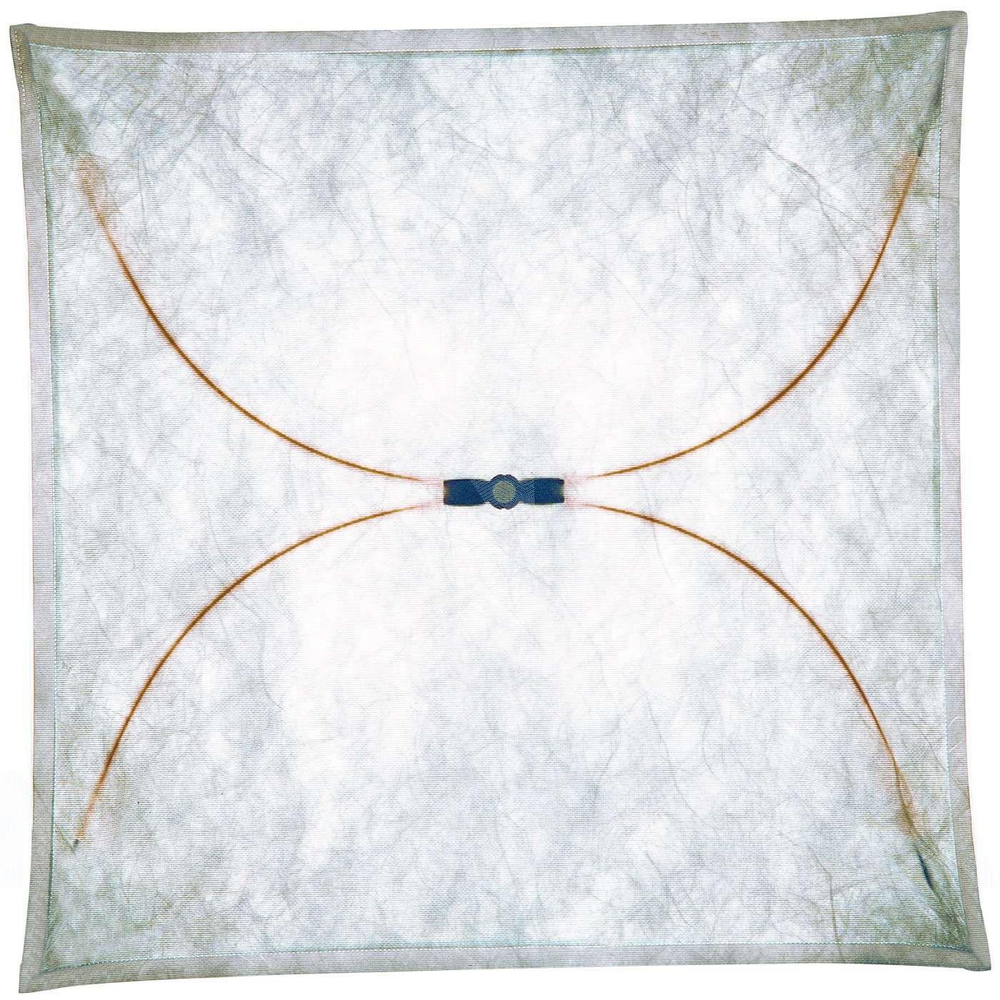 Flos Ariette 3 Wand / Deckenleuchte, natur 130x130cm Textil Metall  Überprüfung und weitere Informationen