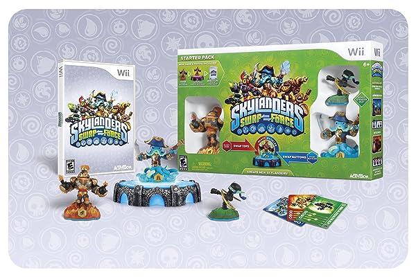 Skylanders SWAP Force Nintendo Wii Starters pack