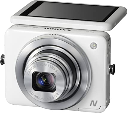 """Canon PowerShot N Appareil photo numérique compact 16 Mpix Écran LCD 2,8"""" Zoom optique 8X Argent"""
