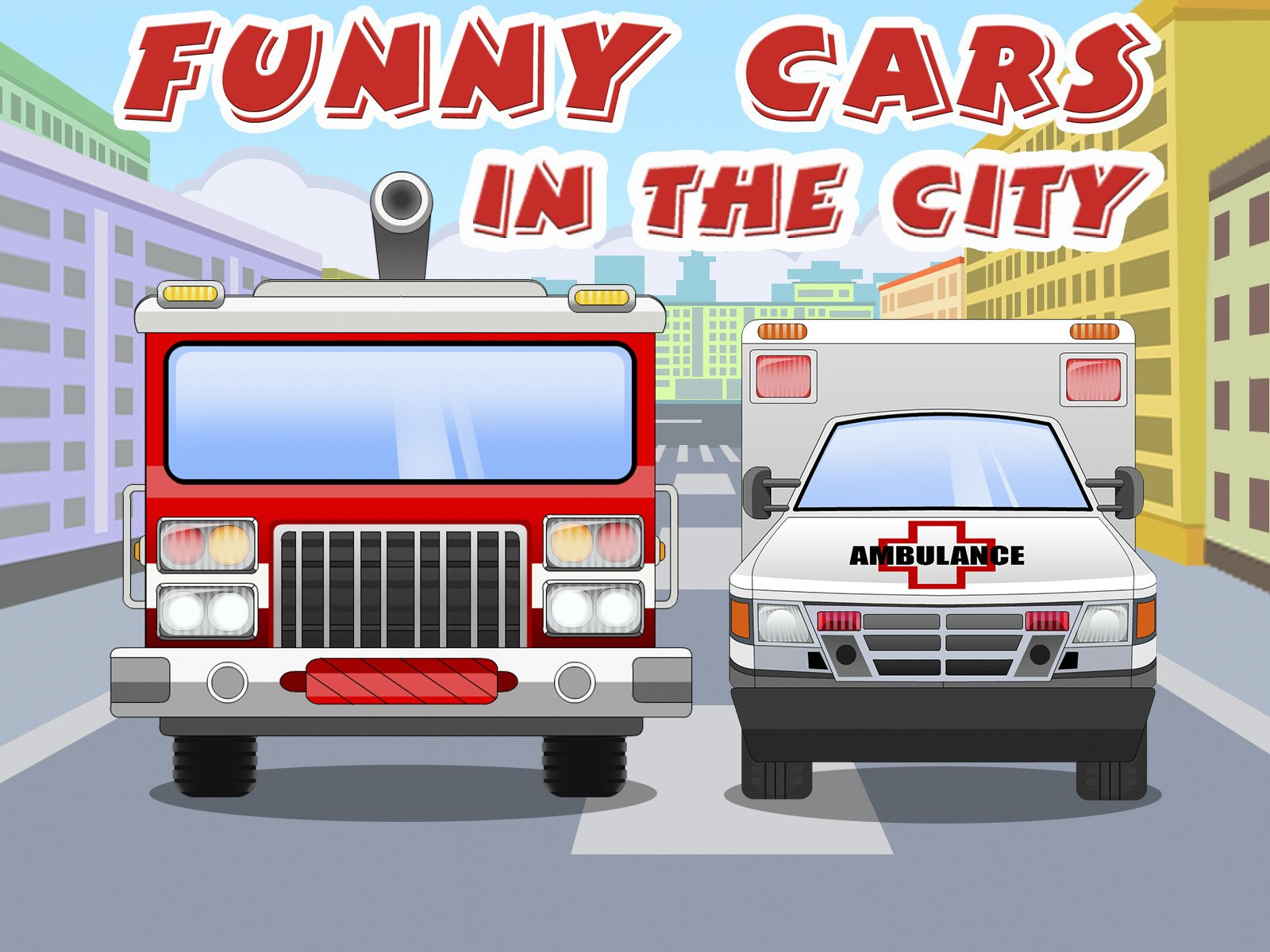 Funny Cars in the City on Amazon Prime Instant Video UK