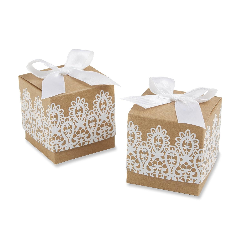 Wedding Favor Boxes Gold Vintage and Heart Boxes Jennifer