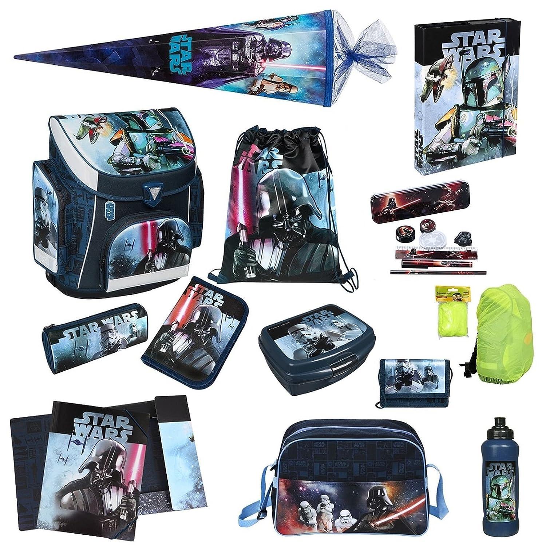 Star Wars Schulranzen Set 20tlg. Schultüte 85cm Sporttasche, Federmappe, Regen-/Sicherheitshülle Scooli SWHX8251 jetzt bestellen