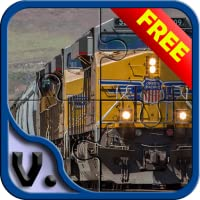 Trains Part 1 - Puzzle HD Free Game