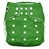 Imagine Baby Products XL Pocket Diapers, Snap, Emerald (Color: Emerald, Tamaño: X-Large)