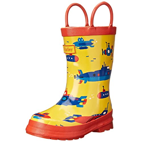 Hatley Big Boys Rainboots -Submarines