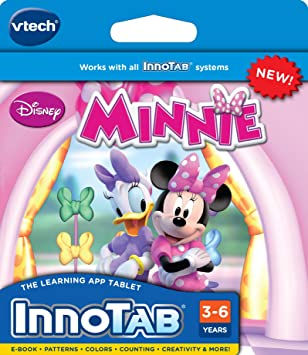 AmazonSmile: VTech InnoTab Software - Minnie's Bow-Toons: Toys & Games