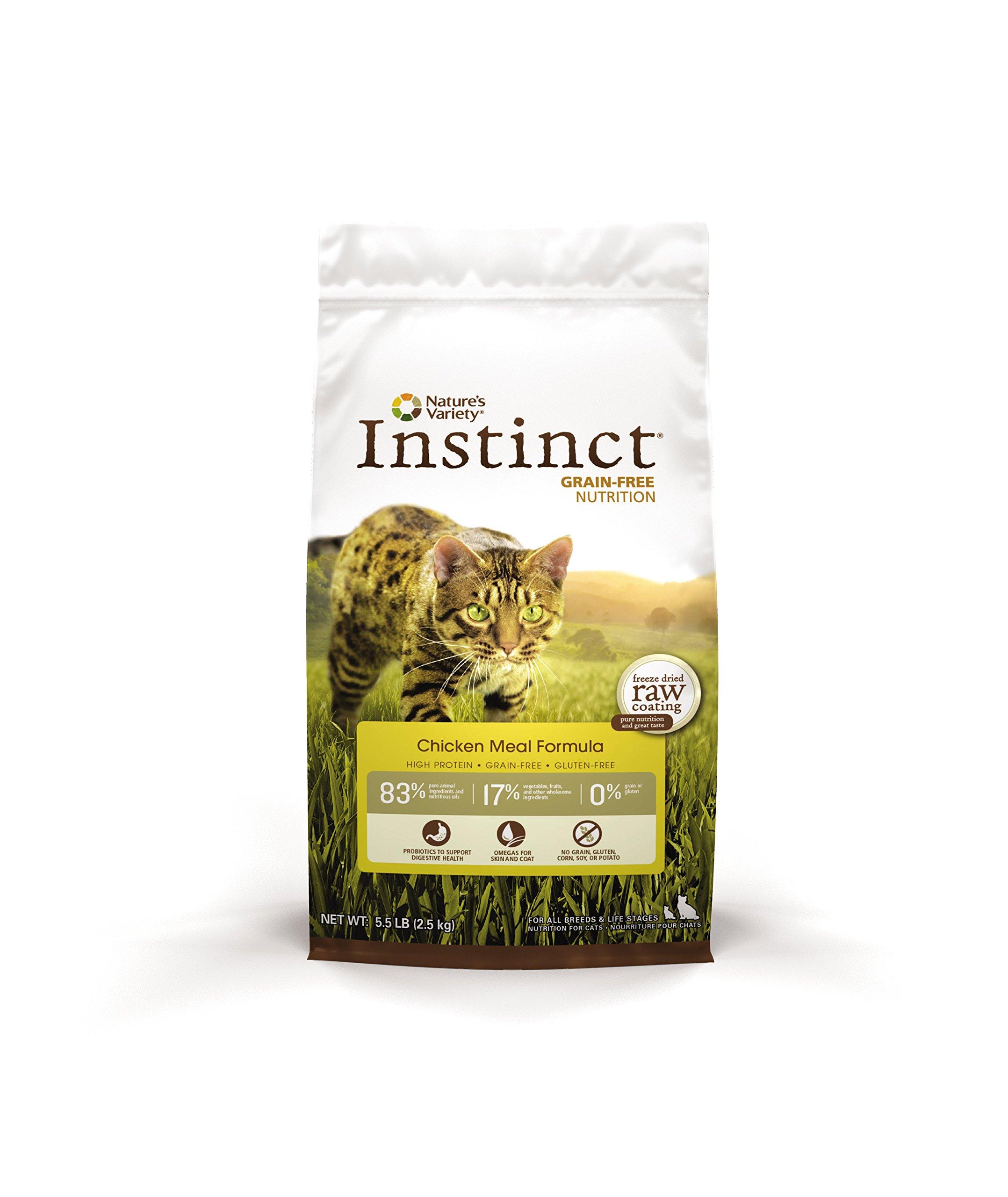 Instinct Dry Cat Food Ingredients