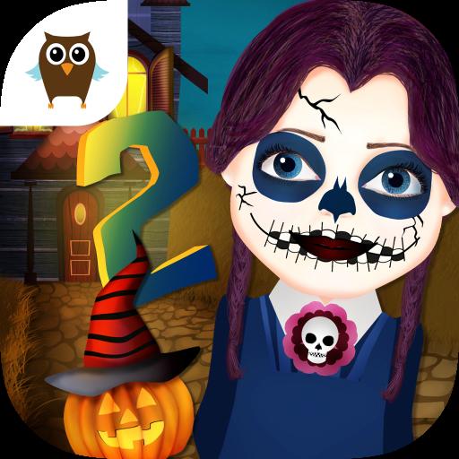 funny-halloween-party-2-dress-up-makeup-nails-pumpkin-carving